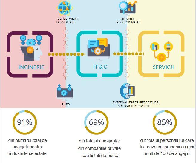 Prima radiografie a economiei din Cluj-Napoca: 20% dintre companii generează 80% din piața de servicii de business