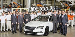 Skoda aniversează producţia a 18 milioane de autovehicule