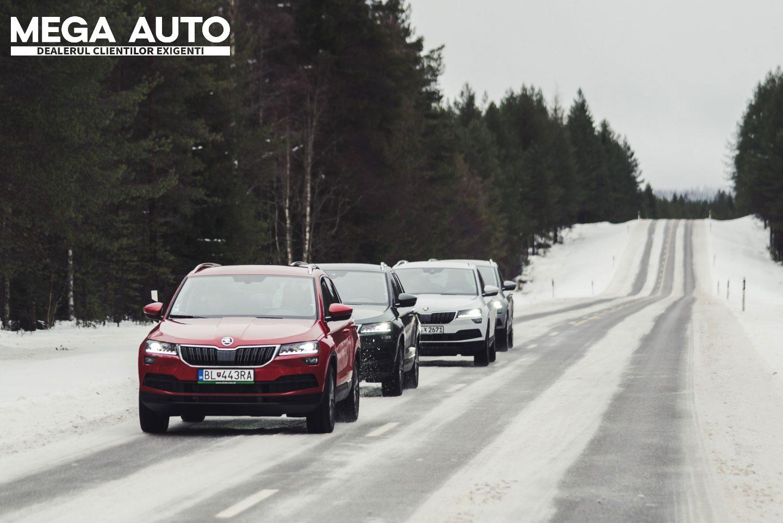 Ho, Ho, Ho a început luna cadourilor la Mega Auto – ŠKODA Iași! Oferta lunii: Prima revizie gratuită