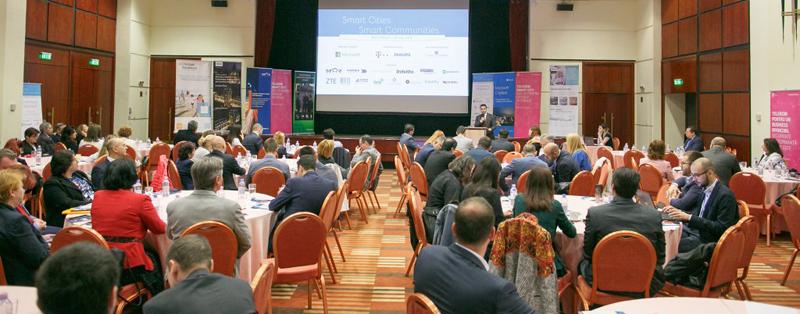 A 6-a conferinţă din 2017 în programul Smart Cities   Smart Communities a avut loc în Bucureşti