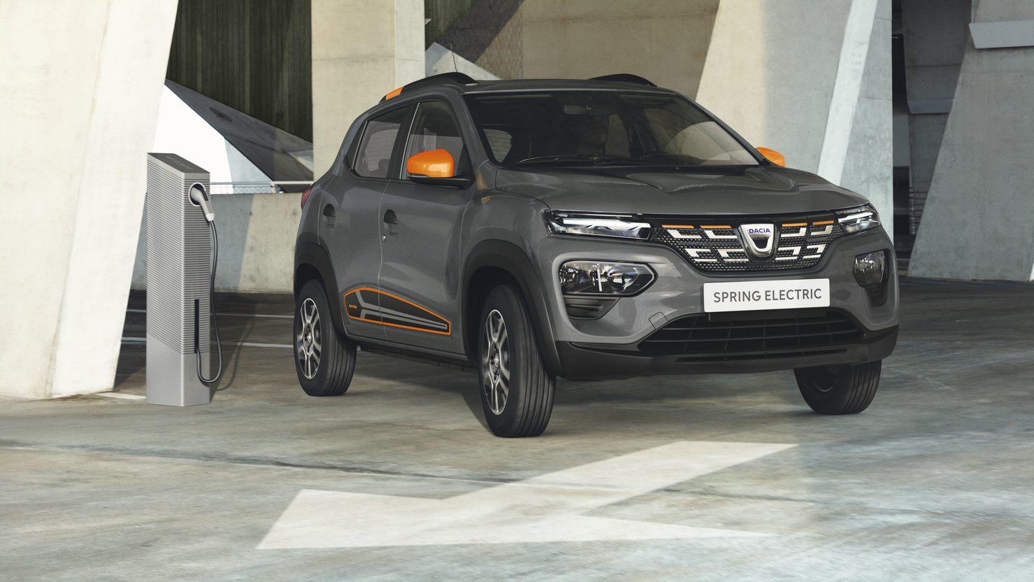 Renault a lansat Dacia Spring, primul model 100% electric al gamei