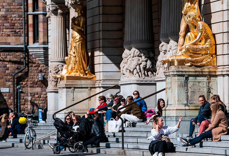 Guvernul suedez susține că la Stockholm s-a depăşit vârful epidemiei de coronavirus