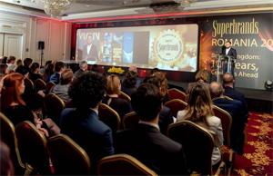 JW Marriott Bucharest Grand Hotel și Raiffeisen Bank, printre cele 30 de companii premiate la Gala Superbrands România