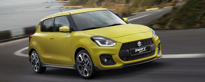 Noul Suzuki Swift Sport – mai mare, dar mai ușor și mai economic