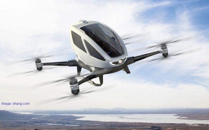 Primele taxiuri zburătoare ar putea apărea în Europa în maxim doi ani