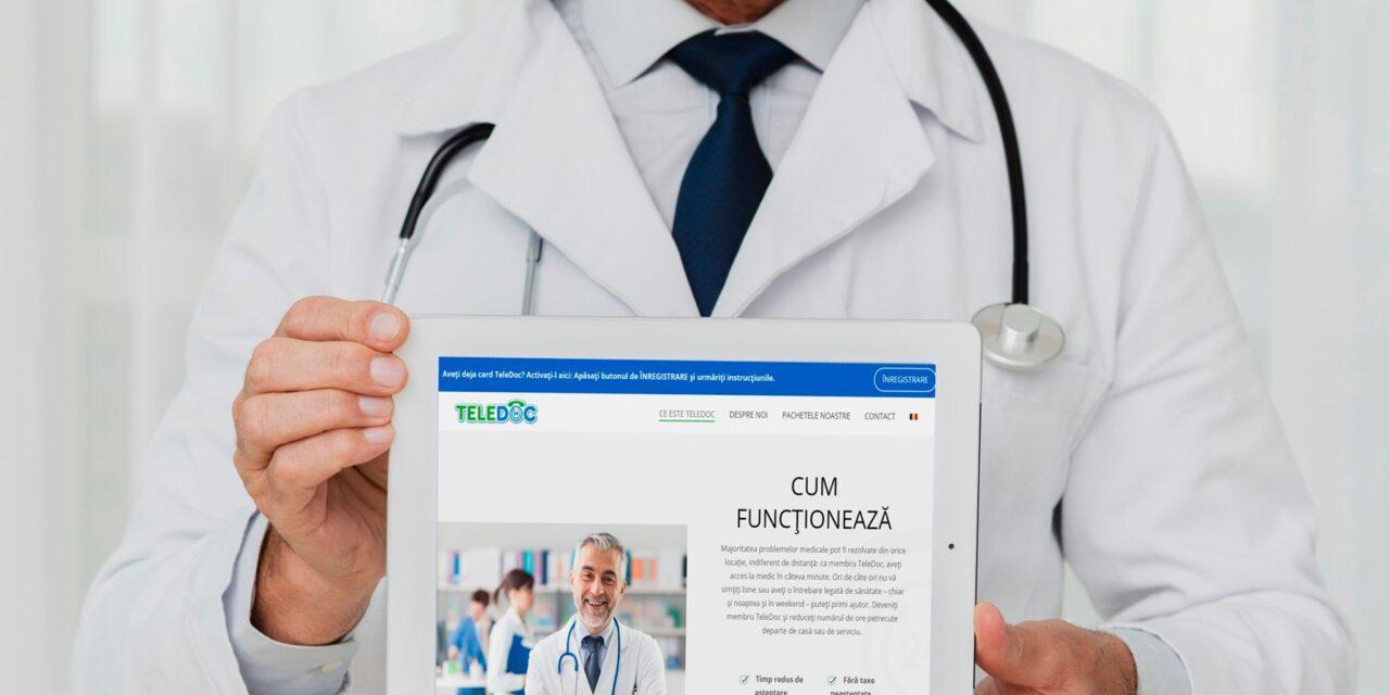 TeleDoc lansează o nouă aplicaţie de telemedicină pe piaţa românească