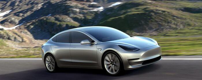 Tesla a dezvăluit noul Model 3 și susține că are deja 130.000 de precomenzi