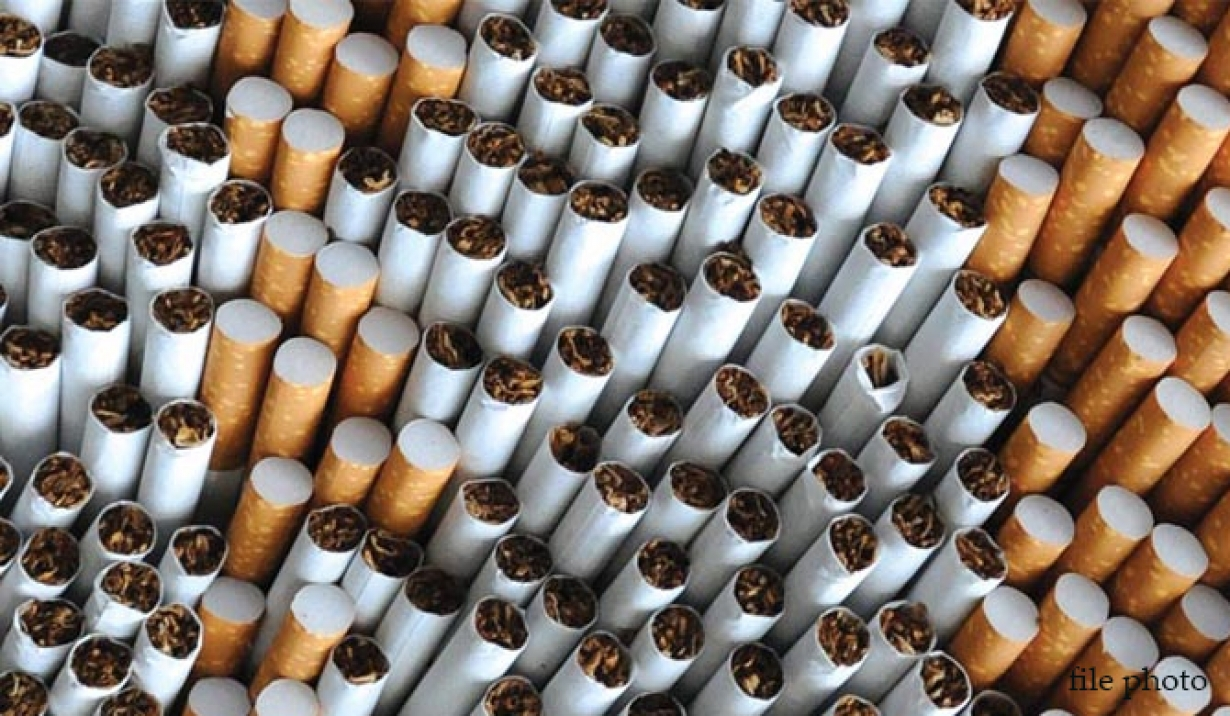Contrabanda cu ţigarete a atins un minim istoric în 2020, România este pentru prima dată sub media UE