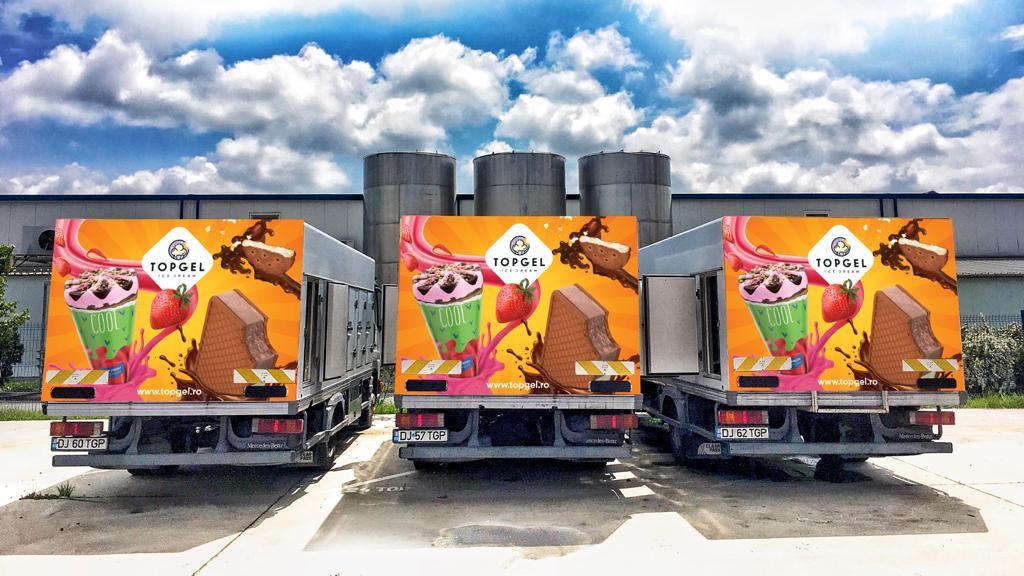 Compania Top Gel a cumpărat fabrica de îngheţată Bonetta din Brăila