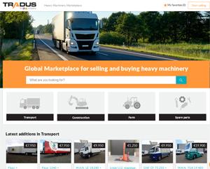 OLX a lansat o platformă globală de tranzacţionare a utilajelor grele