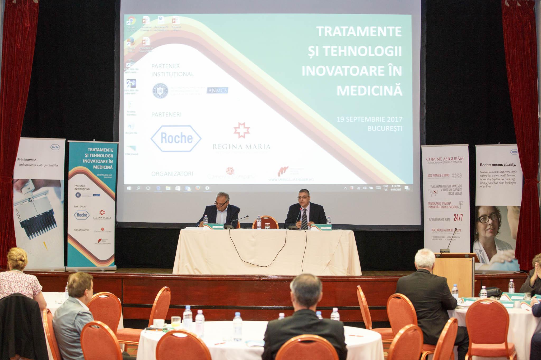 """Rolul inovației în medicină, evidențiat în Conferința """"Tratamente și tehnologii inovatoare în medicină"""" de la București"""