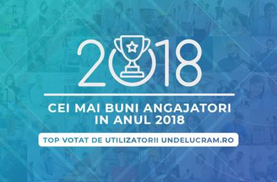 Topul celor mai buni angajatori din România în 2018