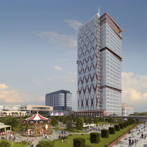 La Timișoara începe construcția celei mai înalte clădiri din România