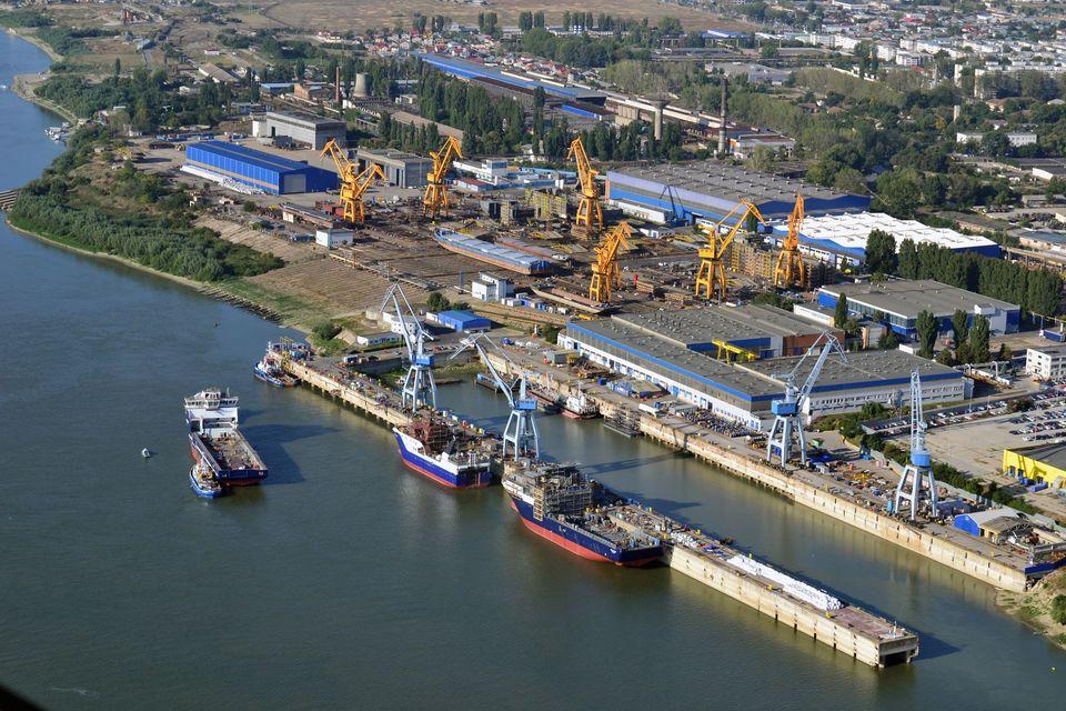 Fuziunea șantierelor navale Vard Brăila şi Vard Tulcea duc la apariția celui mai important jucător local în industria construcţiilor navale