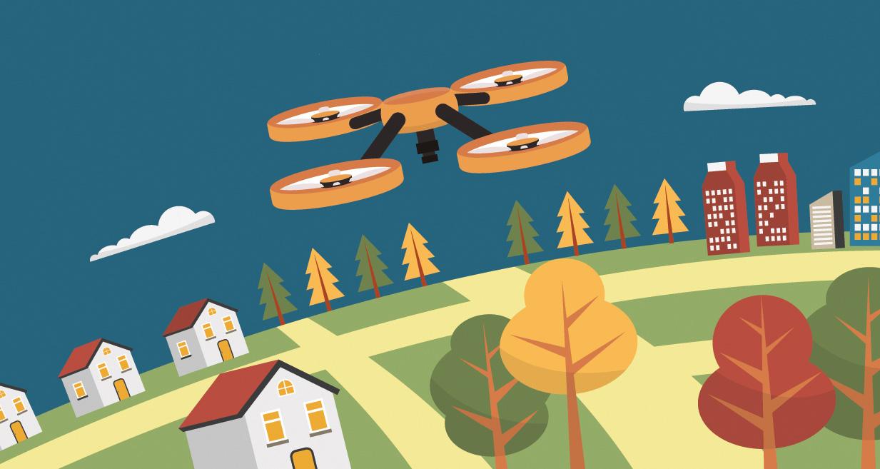 Skyline Drones oferă servicii de monitorizare și inspecție aeriană pentru KMPG România