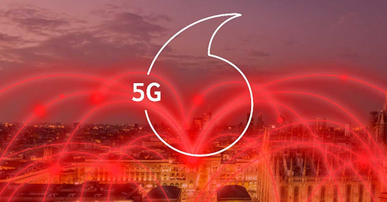 Vodafone anunţă disponibilitatea serviciilor mobile 5G în România