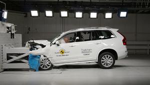 Noul Volvo XC90, siguranţă de 5 stele la testele Euro NCAP
