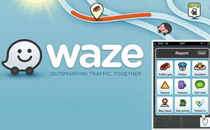 Aplicația mobilă Waze avertizează șoferul când a depășit viteza legală admisă