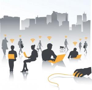 UE alocă 120 milioane de euro autorităților locale pentru instalarea de spoturi wi-fi gratuite în zonele publice