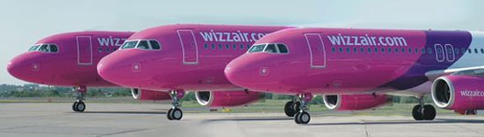 Wizz Air a ajuns să închirieze aeronave pentru a acoperi cererea de călătorie