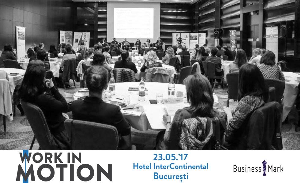 """Perspectivele strategice asupra mobilității internaționale a angajaților sunt abordate la """"Work in motion. A workforce mobility conference"""""""