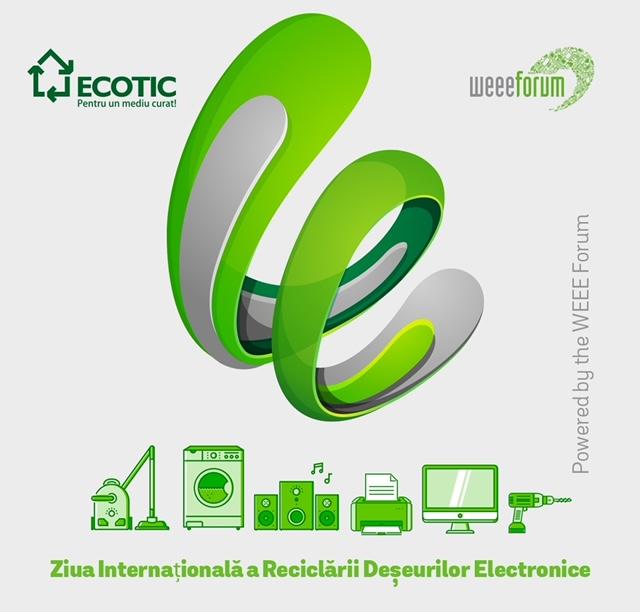 A treia ediție a Zilei Internaționale a Reciclării Deșeurilor Electronice se concentrează pe eco-educație